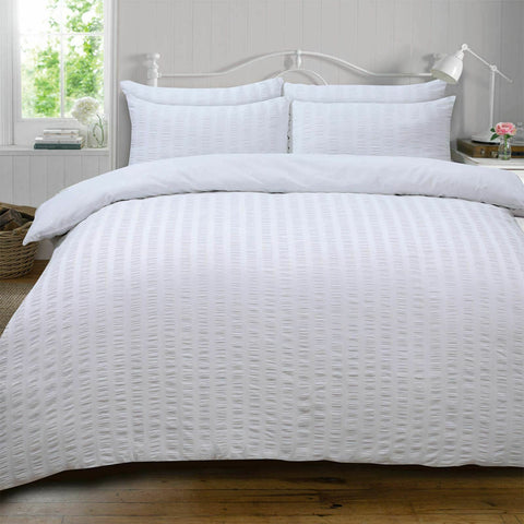 White Luxury Duvet Cover with Pillowcase