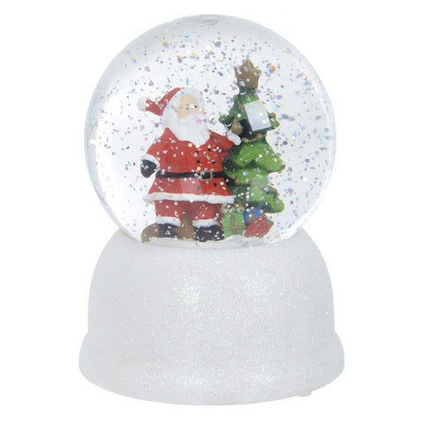 LED Water Christmas Light Snow Globe
