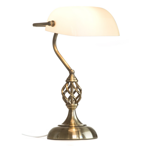 Barley Twist Traditional Desk Lamp