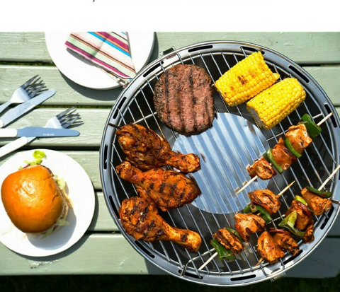 Portable Smokeless Charcoal BBQ
