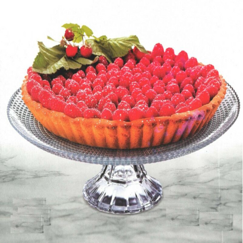 Large 27cm Glass Cake Stand