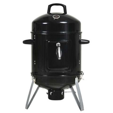 Charcoal Smoker Grill With Thermometer