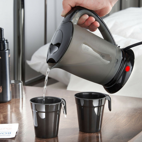 Portable Electric Travel Kettle With 0.5L 2 Cups