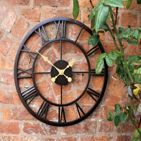 Large Outdoor Wall Clock
