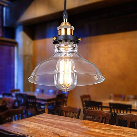 Retro Glass Pendant Ceiling Lightshade