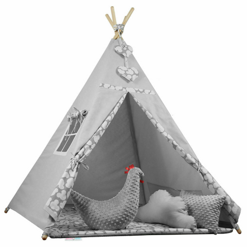INDOOR/OUTDOOR KIDS PLAYHOUSE TENT