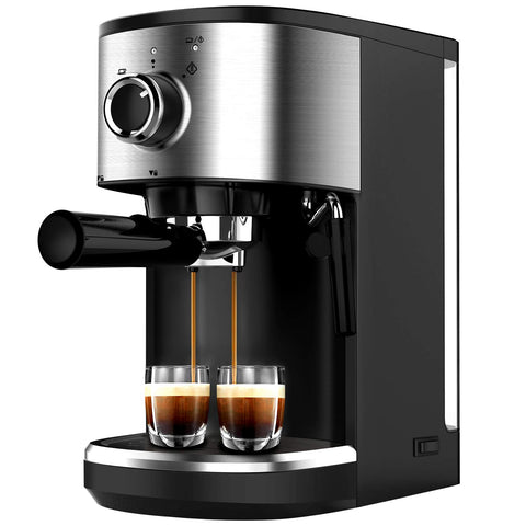 15 Bar Coffee Machine With Foaming Milk Wand