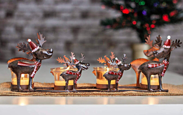 Candle Table Centre Piece Christmas Decoration
