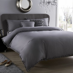 Luxury Pom Pom Duvet Set