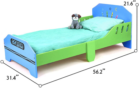 Children's Junior Wooden Single Bed