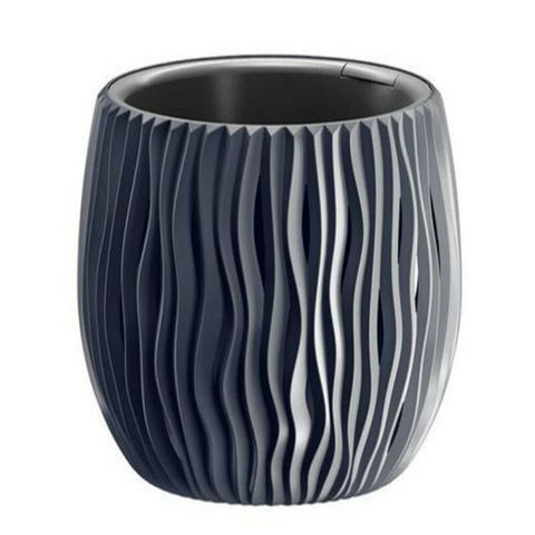 Classic Black/Anthracite Plant Pot