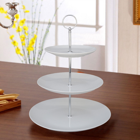 3 Tier Ceramic Cake/Muffin Stand Tableware Display