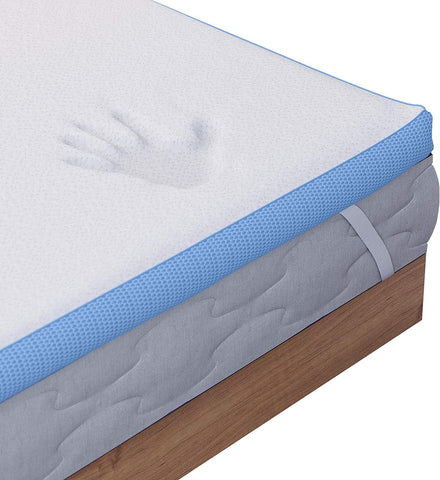 Memory Foam Mattress Topper King Size Bed