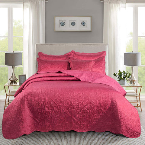 Bed Throws Decorative Coverlet Comforter Set