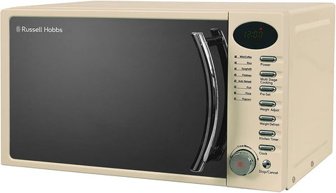 17L/700 W Black Digital Solo Microwave