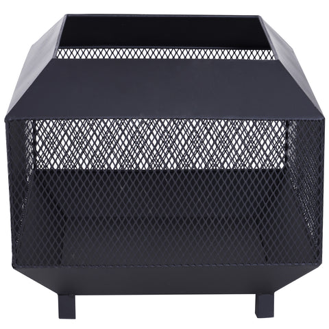 Square Patio Firepit Heater