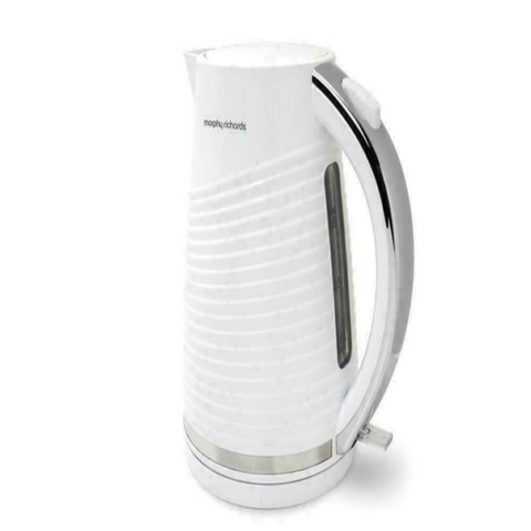 White Portable Limescale Electric Jug