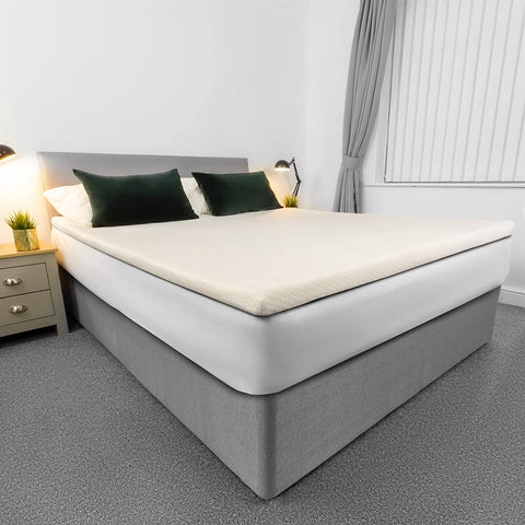 Memory Foam Mattress Topper King Bed