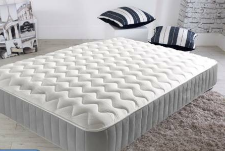 Quilted Sprung Memory Mattress