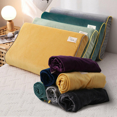Latex Pillowcase Neck Healthcare Memory Foam