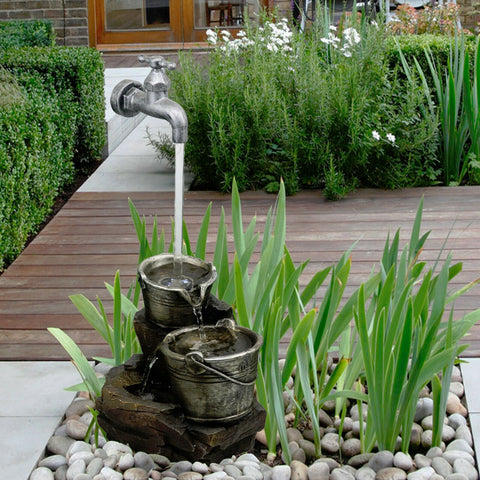 Indoor/Outdoor Water Tap Garden Fountain