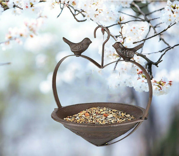 Hanging Bird Bath/Feeder