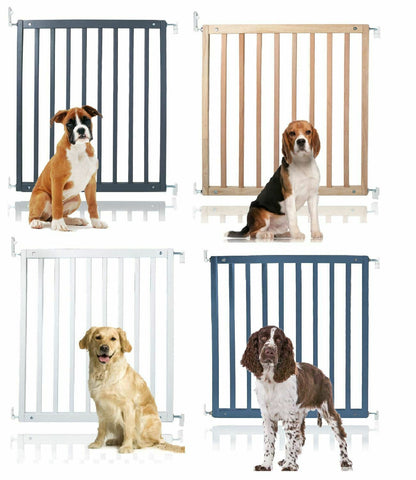 Secure Wooden Dog Stair Gate