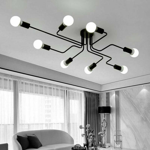 Modern Retro Metal Ceiling Light