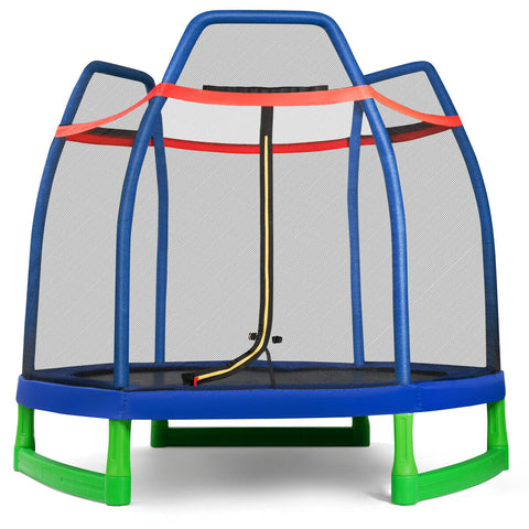 7FT Kids Trampoline For Outdoor Play