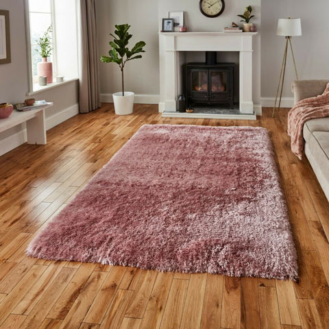 SUPER SOFT LUXURY ROSE PINK RUG