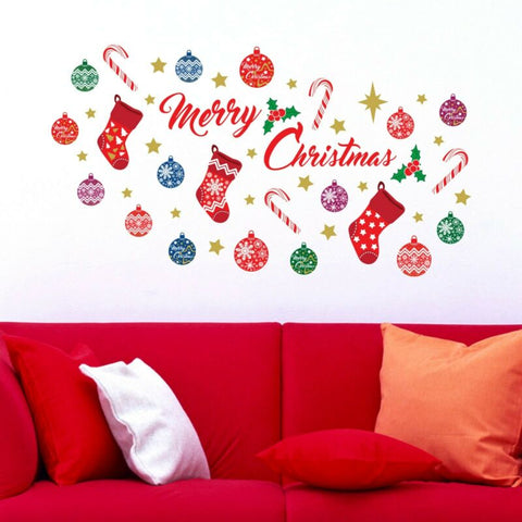 Merry Christmas Quote Wall Sticker