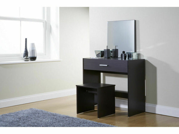 Dressing Table Set with Stool & Mirror