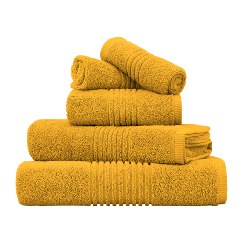 EGYPTIAN COTTON 600 GSM TOWEL SET (MUSTARD)
