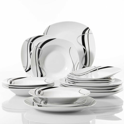 18pcs Porcelain Dinnerware Set