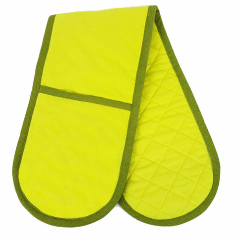 Plain Colour Double Pot Holder/Oven Glove