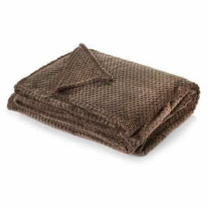 Luxury Honeycomb Mink Throw