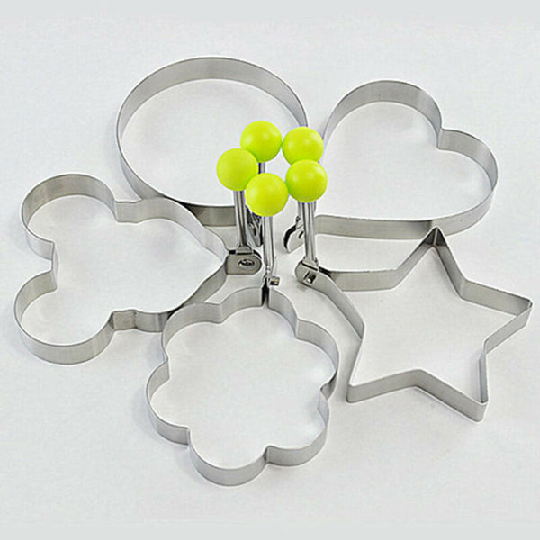 5pcs/Set Egg Mold Ring