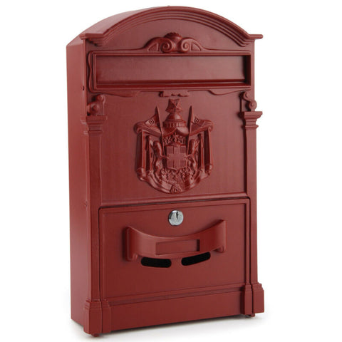 VINTAGE LOCKABLE OUTDOOR LETTER BOX