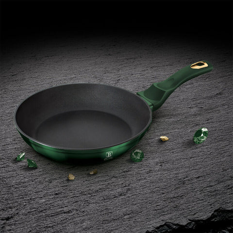 3 Sizes Aluminium Non Stick Frying Pan With Marble Coating