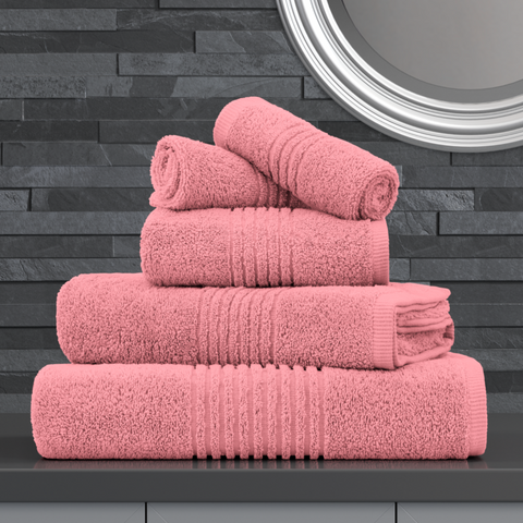 PLUSH PINK ZERO TWIST EGYPTIAN COTTON