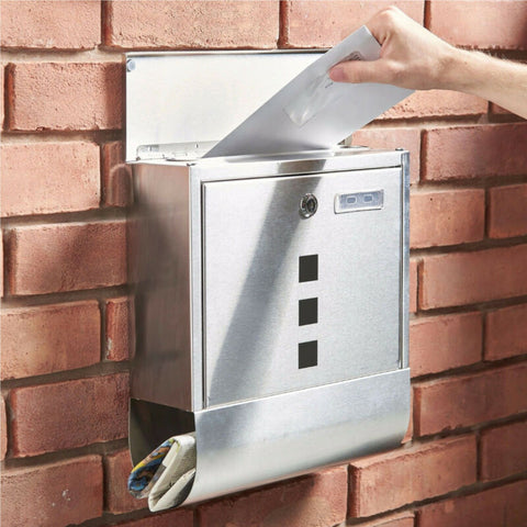 NEW LARGE OUTSIDE LOCKABLE MAILBOX