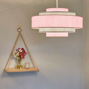 5 Tier Ceiling Pendant Light Shade - 3 colours