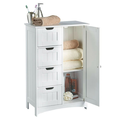 4 Drawer Bathroom Cabinet
