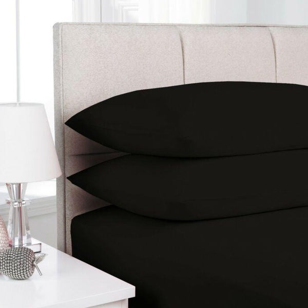 2x Luxury Polyester Pillowcases