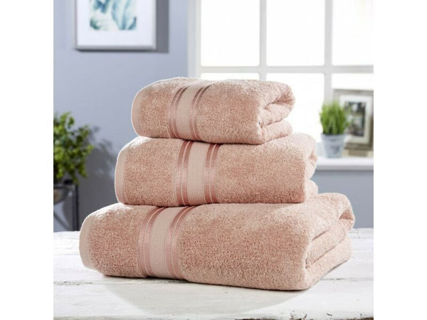 Pink Luxury Soft Cotton Towel Set
