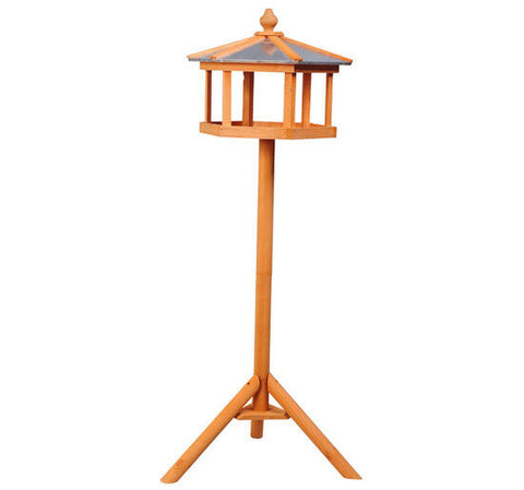 Backyard Wooden Bird Feeder