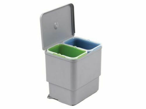Swing Lid Pull Out Kitchen Waste Bin