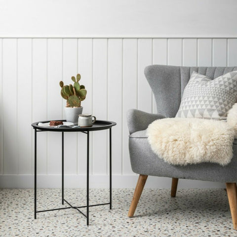 Contemporary  Tray Side Table
