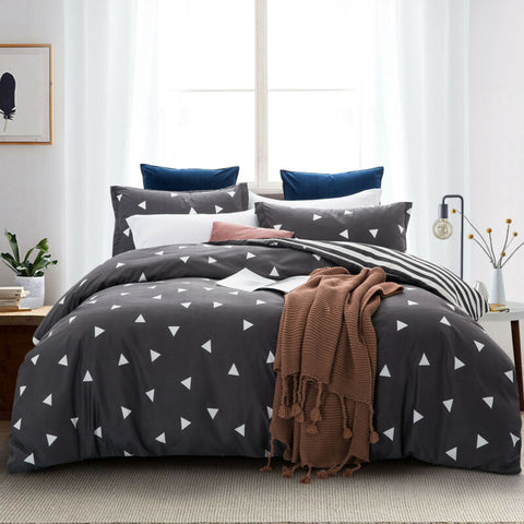 Quilt Duvet Cover Bedding Set With Pillowcase