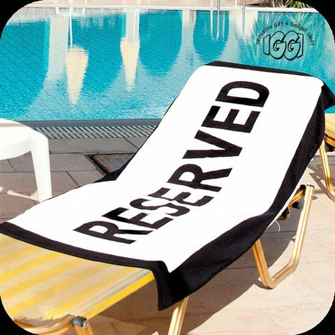 Fun Beach Lounge Cotton Towel
